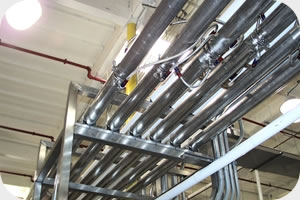Process & Utility Piping | Jenson Mechanical | Industrial Mechanical Contractor SF Bay Area
